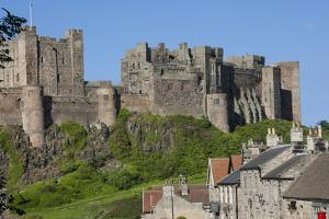 Bamburgh Castle, Bamburgh, Northumberland, England, United Kingdom, Europe by James Emmerson