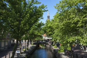 Canal Scene in Edam, Holland, Europe by James Emmerson