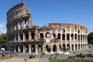 Colosseum, Ancient Roman Forum, Rome, Lazio, Italy by James Emmerson