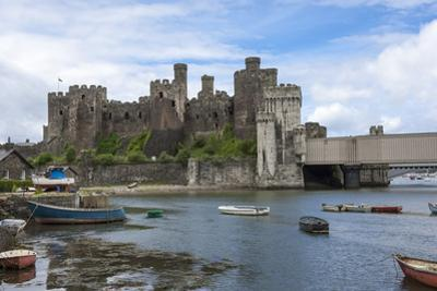Conwy (Conway) Castle, UNESCO World Heritage Site, Conwy, Conway County Borough, Wales, United King
