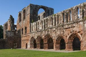 Elaborate Carved Stone Arches, 12th Century St. Mary of Furness Cistercian Abbey, Cumbria, England by James Emmerson