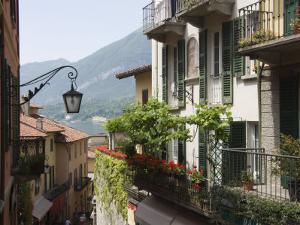 Street in Bellagio, Lake Como, Lombardy, Italy, Europe by James Emmerson
