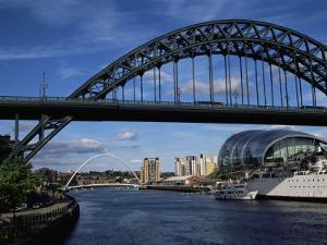 Tyne Bridge, Newcastle Upon Tyne, Tyne and Wear, England, United Kingdom by James Emmerson