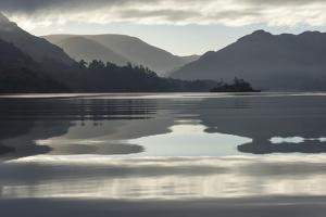 Ullswater, Little Island in November, Lake District National Park, Cumbria, England, UK by James Emmerson
