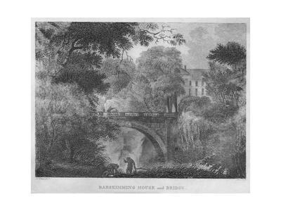 'Barskimming House and Bridge', 1804