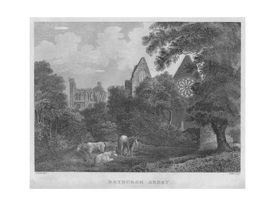 'Dryburgh Abbey', 1804