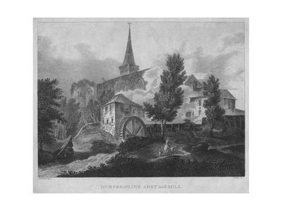 'Dunfermline Abby and Mill', 1804