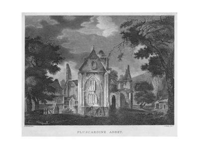 'Pluscardine Abbey', 1804