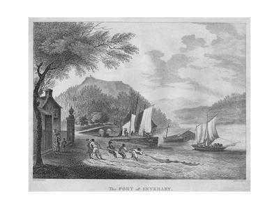 'The Port of Inverary', 1804
