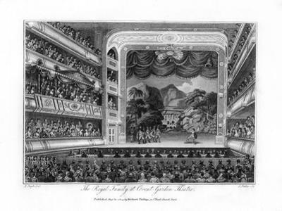 The Royal Family at Covent Garden Theatre, London, 1804