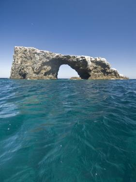 Anacapa Island Arch in the Channel Islands National Park by James Forte