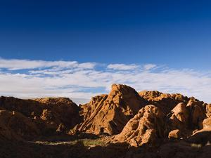Rock Formations in Petroglyph Canyon on Mouse's Tank Trail by James Forte