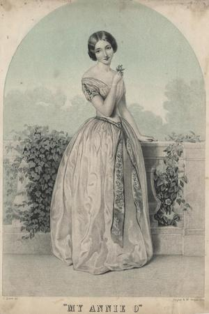 My Annie O, Litho by Wagner and Mcguigan, 1850