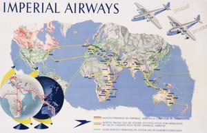 Imperial Airways Poster by James Gardner