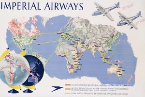 Imperial Airways Poster by James Gardner