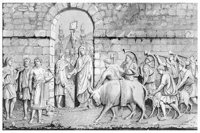 The Great Sacrifice of the Romans on Undertaking a War