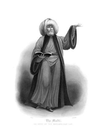 The Mufti, Chief of Mohammedan Law