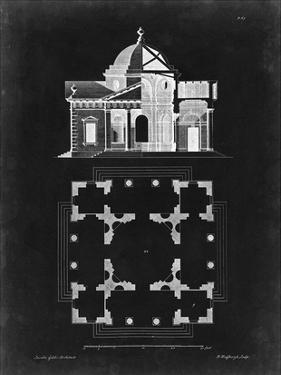 Graphic Building & Plan III by James Gibbs