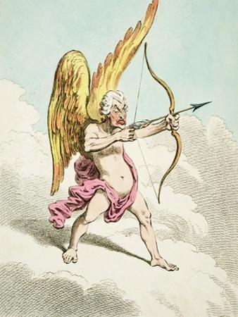 Cupid, from the New Pantheon No.4, Published by Hannah Humphrey, 1799 by James Gillray
