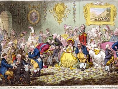 L'Assemblée Nationale, 1804 by James Gillray