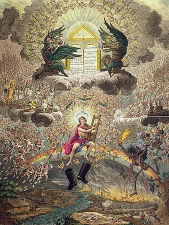 The Apotheosis of Hoche, Published by Hannah Humphrey in 1798