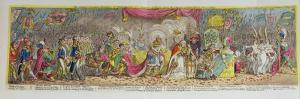 The Grand Coronation Procession of Napoleon by James Gillray
