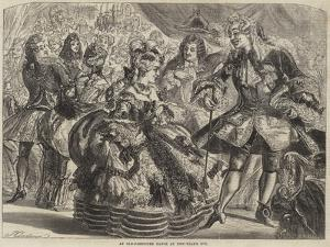 An Old-Fashioned Dance at New-Year's Eve by James Godwin