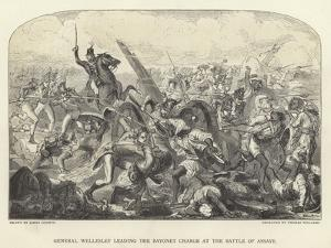 General Wellesley Leading the Bayonet Charge at the Battle of Assaye by James Godwin