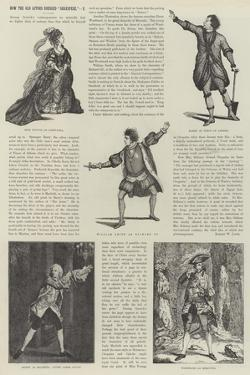 How the Old Actors Dressed Shakspere by James Godwin