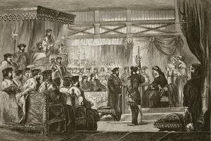 The Trial of Queen Anne before the Kings' Commissioners, Engraved by Butterworth and Heath by James Godwin