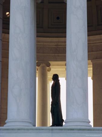 Interior, Jefferson Memorial, Washington D.C., United Staes of America (U.S.A.), North America