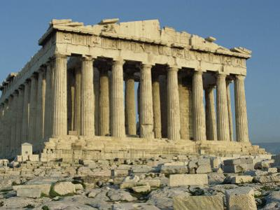 Parthenon, the Acropolis, UNESCO World Heritage Site, Athens, Greece, Europe