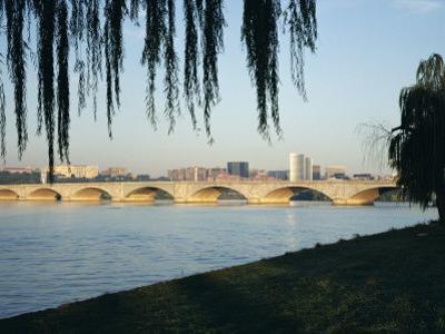 Potomac River and the Arlington Memorial Bridge, Washington D.C., USA