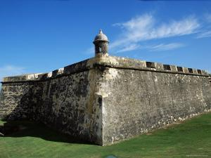 Ancient Fort, Old San Juan, Puerto Rico, West Indies, Central America by James Gritz