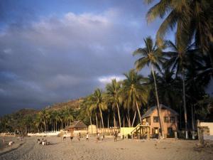 Beach at Sayulita, Near Puerto Vallarta, Mexico, North America by James Gritz