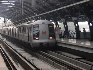 Delhi Metro, India, Asia by James Gritz