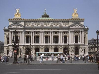 Opera Garnier, Paris, France, Europe by James Gritz