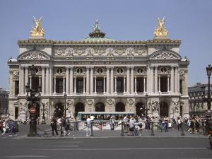 Opera Garnier, Paris, France, Europe by James Gritz