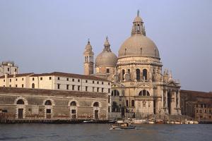 Santa Maria Della Salute, Venice, Italy by James Gritz