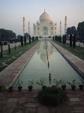 Taj Mahal, Unesco World Heritage Site, Agra, Uttar Pradesh State, India, Asia by James Gritz