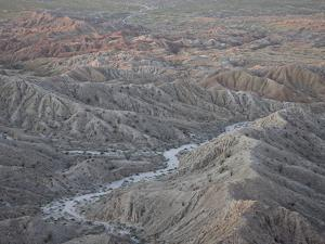 Badlands From Font's Point, Anza-Borrego Desert State Park, California, USA by James Hager