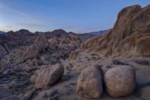 Boulders and Granite Hills, Alabama Hills, Inyo National Forest by James Hager