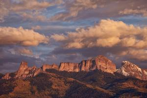 Clouds over Palisades at Sunset by James Hager