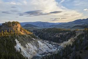 Yellowstone River, Yellowstone Nat'l Park, UNESCO World Heritage Site, Wyoming, USA by James Hager