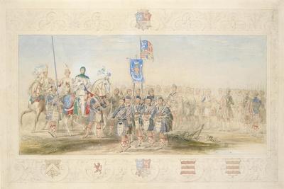Baron Glenlyon, Knight of the Gael, 1839