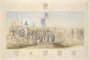 Baron Glenlyon, Knight of the Gael, 1839 by James Henry Nixon
