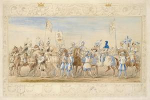 Continuation of the Retinue of the Marquis of Waterford, Knight of the Dragon and Viscount… by James Henry Nixon