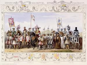 Procession to the Lists, 1843 by James Henry Nixon