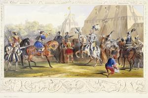 The Challenge, 1843 by James Henry Nixon