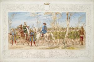 The Marquis of Londonderry, King of the Tournament by James Henry Nixon